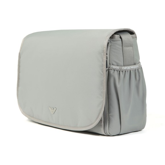 Emporio Armani Baby Boys Grey Changing Bag