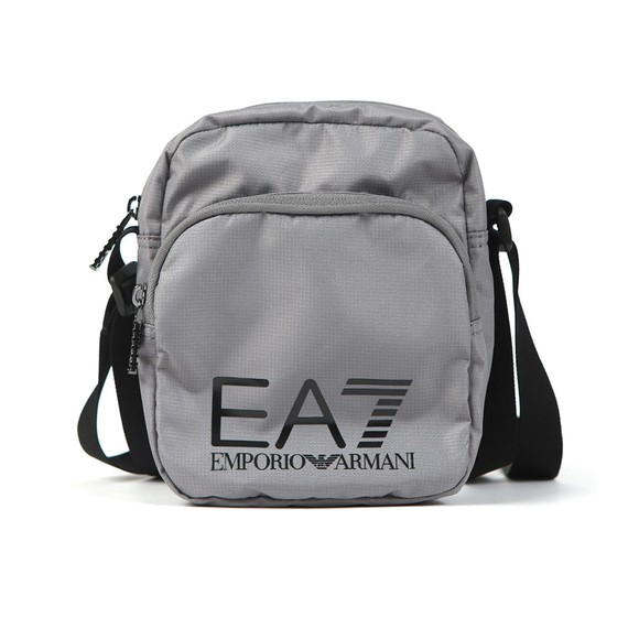 EA7 Emporio Armani Mens Grey Pouch Bag