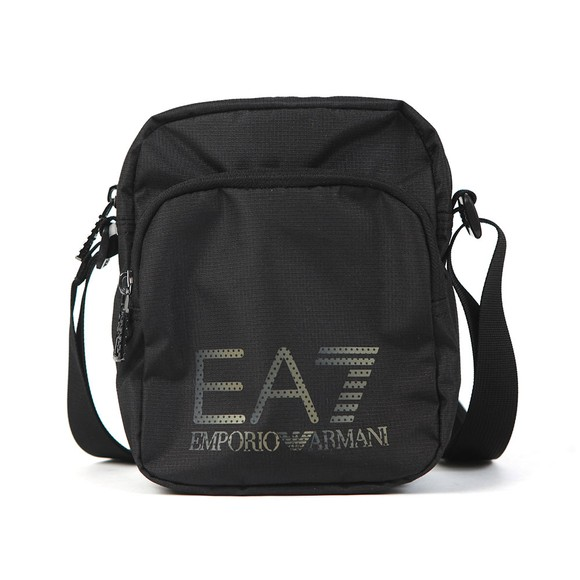 EA7 Emporio Armani Mens Black Pouch Bag