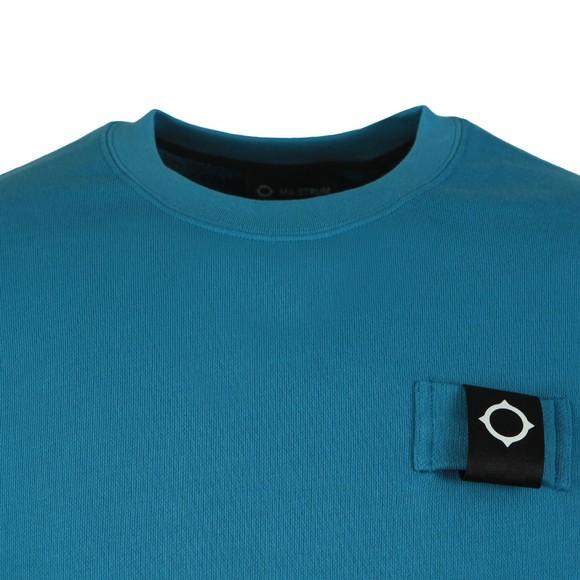 Ma.Strum Mens Blue Training Crew Sweatshirt main image
