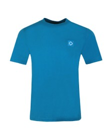 Ma.Strum Mens Blue Icon T-Shirt