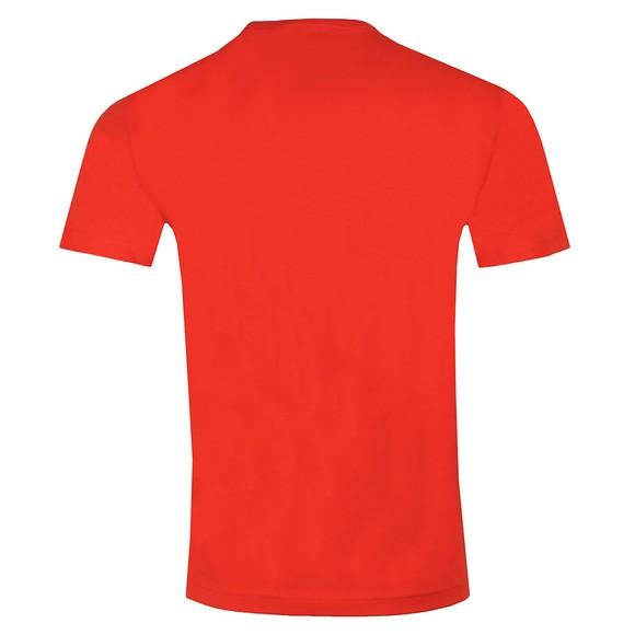 EA7 Emporio Armani Mens Orange Logo T-Shirt main image