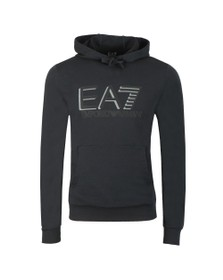 EA7 Emporio Armani Mens Blue Hooded Sweat