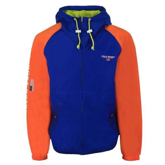 Polo Sport Ralph Lauren Mens Blue Unlined Windbreaker Jacket