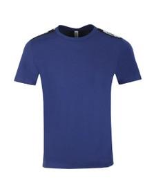 Moschino Mens Blue Tape T-Shirt