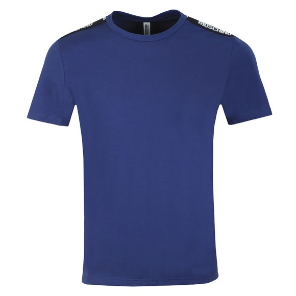 Moschino Mens Blue Tape T-Shirt