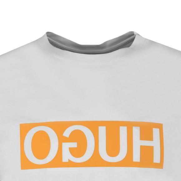 HUGO Mens White Dicagolino202 T-Shirt