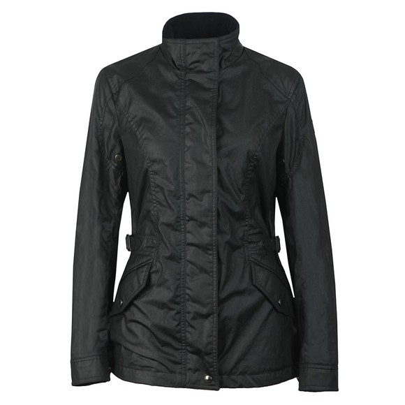 Belstaff Womens Blue Adeline Wax Jacket