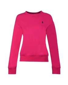 Polo Ralph Lauren Womens Pink Light Crew Sweatshirt