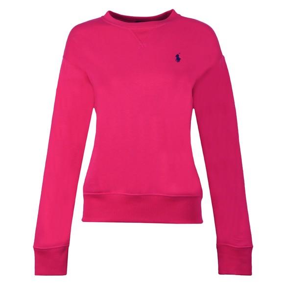 Polo Ralph Lauren Womens Pink Light Crew Sweatshirt