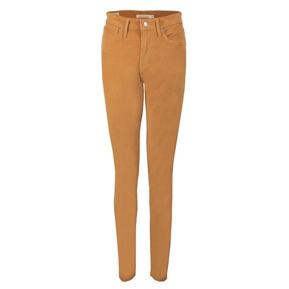 Levi's Womens Beige 721 High Rise Skinny Jean