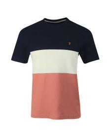Farah Mens Pink Wharton T-Shirt