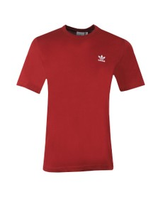 adidas Originals Mens Red Essential T-Shirt