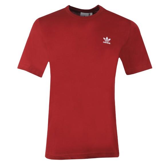 adidas Originals Mens Red Essential T-Shirt main image