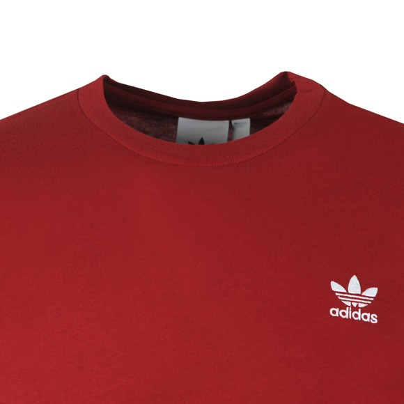adidas Originals Mens Red Essential T-Shirt main image