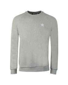 adidas Originals Mens Grey Essential Crew Sweatshirt
