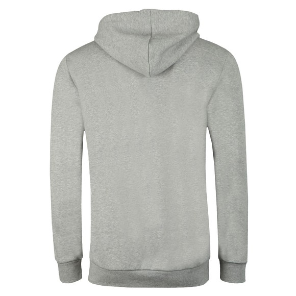 adidas Originals Mens Grey 3 Stripes Full Zip Hoodie main image