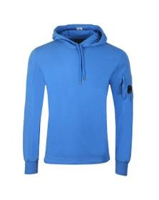 C.P. Company Mens Blue Viewfinder Sleeve Overhead Hoody