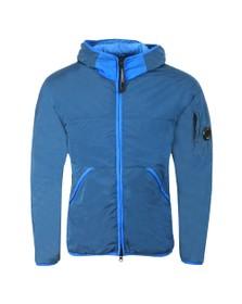 C.P. Company Mens Blue Chrome Based Prime Layer Jacket
