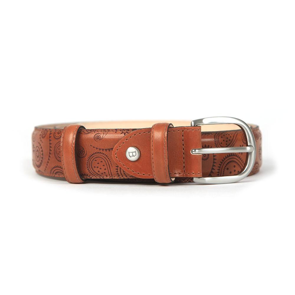 Paisley Leather Belt main image