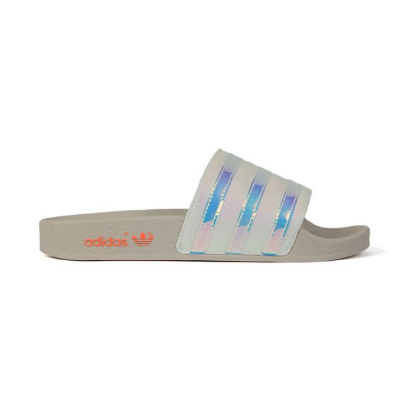 adidas Originals Womens White Adilette Slide