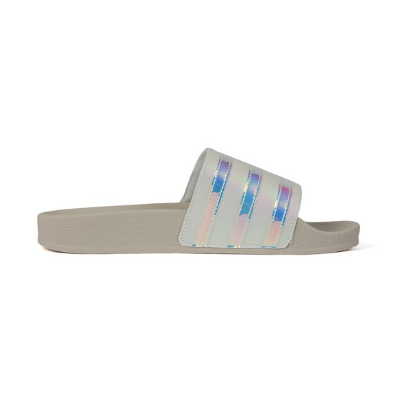 adidas Originals Womens White Adilette Slide main image