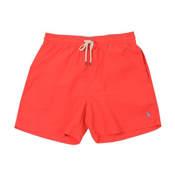 Polo Ralph Lauren Mens Red Traveller Swim Short