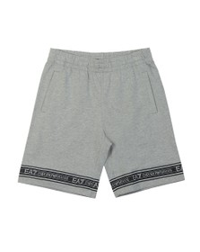 EA7 Emporio Armani Mens Grey Sweat Bermuda Short