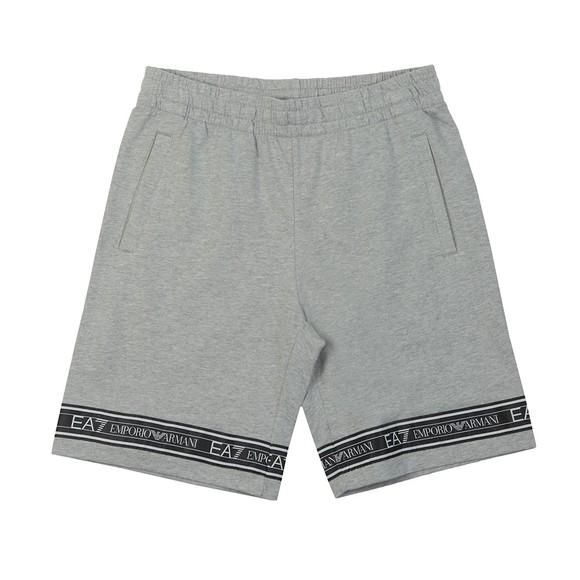 EA7 Emporio Armani Mens Grey Sweat Bermuda Short