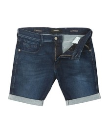 Replay Mens Blue Hyperflex Short