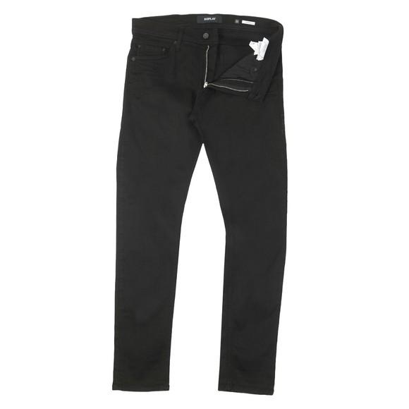 Replay Mens Black Jondrill Jean