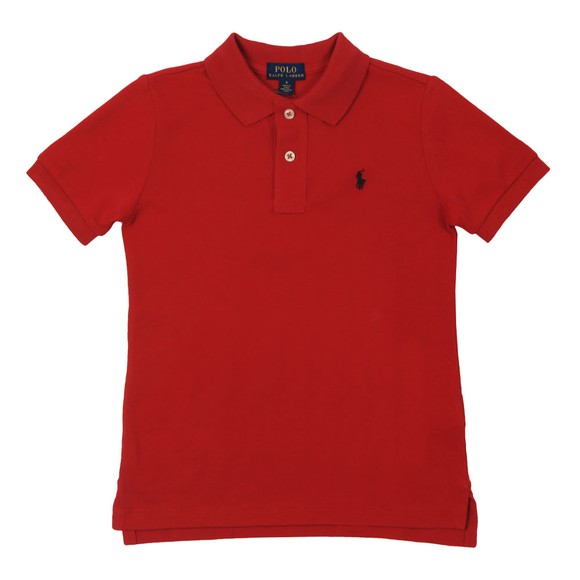 Polo Ralph Lauren Boys Red Pique Polo Shirt