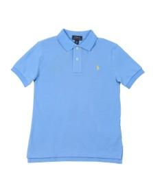 Polo Ralph Lauren Boys Blue Pique Polo Shirt