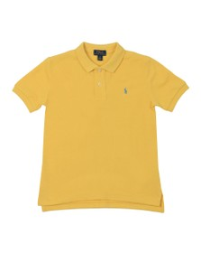 Polo Ralph Lauren Boys Yellow Pique Polo Shirt