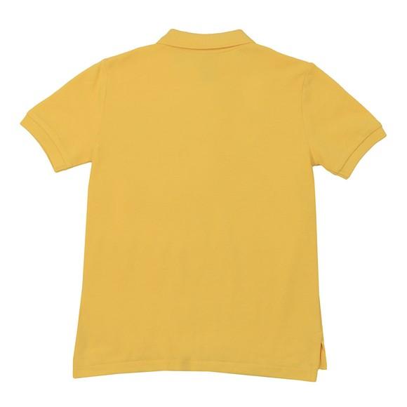Polo Ralph Lauren Boys Yellow Pique Polo Shirt