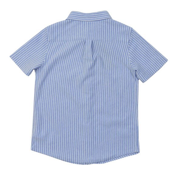 Polo Ralph Lauren Boys Blue Boys Short Sleeve Pique Shirt main image