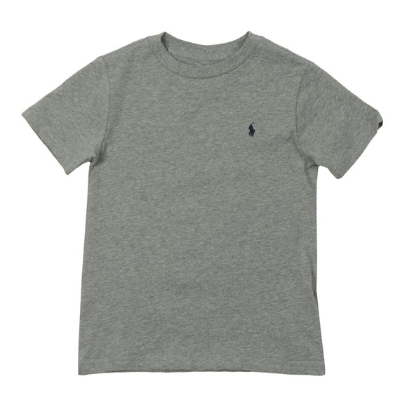 Polo Ralph Lauren Boys Grey Crew Neck T-Shirt