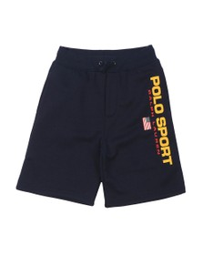 Polo Ralph Lauren Sport Boys Blue Logo Jersey Shorts