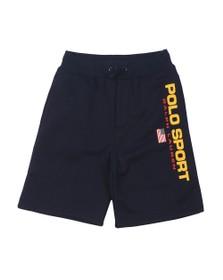 Polo Ralph Lauren Sport Boys Blue Logo Jersey Shorts