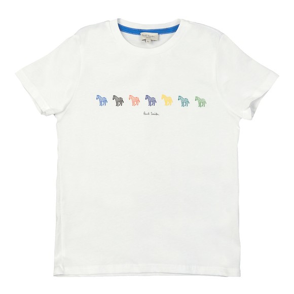 Paul Smith Junior Boys White Alix T-Shirt