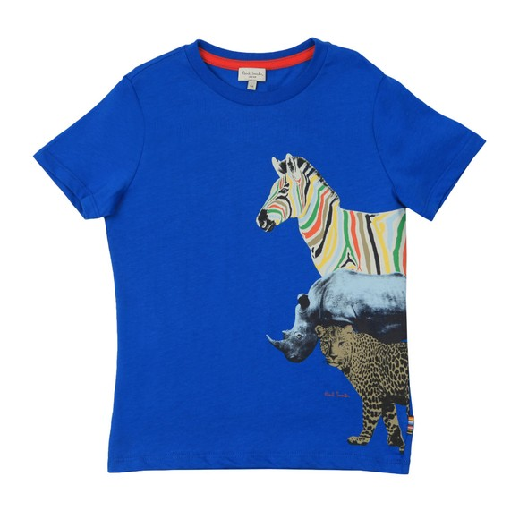 Paul Smith Junior Boys Blue Acomo T-Shirt