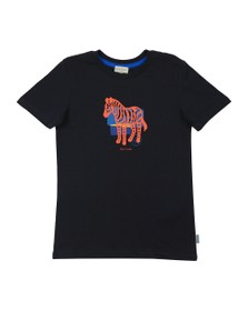 Paul Smith Junior Boys Blue Amolo Zebra T-Shirt