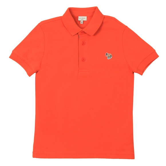 Paul Smith Junior Boys Orange Ridley Polo Shirt