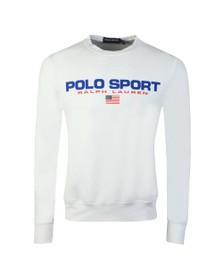 Polo Ralph Lauren Sport Mens White Crew Neck Sweatshirt