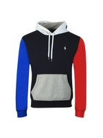 Colour Block Popover Hoody