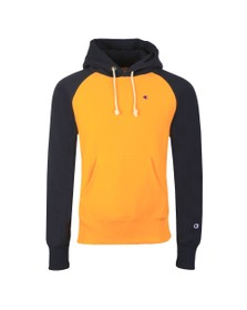 Champion Reverse Weave Mens Multicoloured 2 Tone Overhead Hoodie