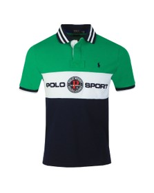 Polo Ralph Lauren Mens Green Ocean Challenge Polo Shirt