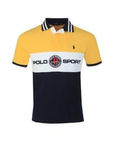 Polo Ralph Lauren Mens Yellow Ocean Challenge Polo Shirt