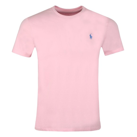 Polo Ralph Lauren Mens Pink Custom Slim Fit T-Shirt