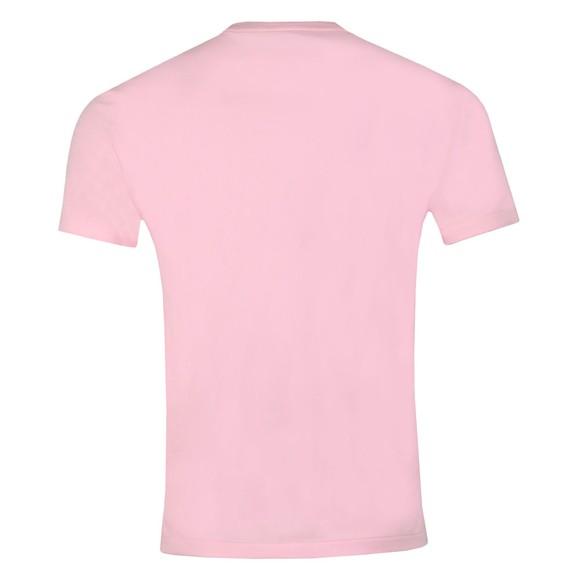 Polo Ralph Lauren Mens Pink Custom Slim Fit T-Shirt main image